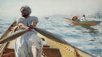 "Anders Zorn, ""Kaikroddare III"" (1886)"