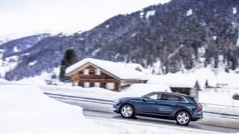 Audi har støttet World Economic Forum som shuttlepartner hver år siden 1987 - i 2019 er årsmødet i Davos