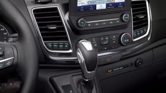 A Ford Transit új 10 fokozatú autómata sebességváltóval