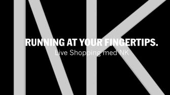NORDISKA KOMPANIET MED NK SPORT INTRODUCERAR LIVE VIDEO SHOPPING UNDER LEDNING AV DANIEL LINDSTRÖM