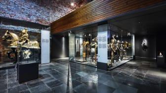 Besök museet på egen hand! Här gestaltas Gustav Vasa och hans söner genom de statustyngda föremålen som rustningar, sadlar och vapen.