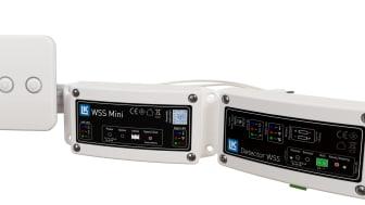 LK WSS Mini Standardpakke. Inkl. motorventil, kontrollpanel, hovedenhet og lekkasjedetektor. LK WSS Mini oppfyller alle norske krav.