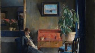 Harriet Backer, Blue Interior