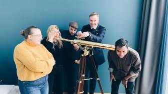 Jonna Eriksson, Jeanette Gostomski, Silas Bieri, Jens Lyckman och Alexis Rodriquez Cancino bjuder in till #gallery2408