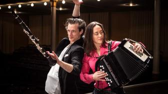 Magnus Holmander och Irina Serotyuk. Foto: Nadja Sjöström