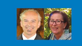 Gyorgy Marka Varga och Margareta Hammarlund Udenaes, nya hedersledemöter i Apotekarsocieteten