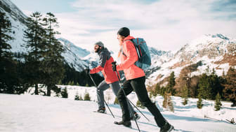 Tailored to the movement and dynamism of winter sports hikers