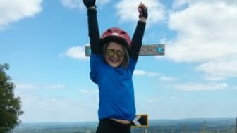 Seven-year-old takes on 100km cycling challenge for stroke