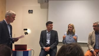 Maria Svantemark Nordic Sustainability Manager, Findus under panelsamtalet Skånska företags syn på hållbarhet och lönsamhet