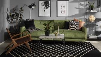TREND Style 3-sits soffa med vinkel