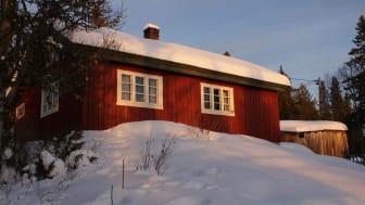 De fleste hyttene stod tomme under hytteforbudet, men ble fylt opp igjen så snart forbudet var opphevet, viser tall fra Telenor. Foto: Ingrid Dietrichsson.