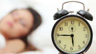 En god sömn gynnar upplevelsen av arbetsdagen