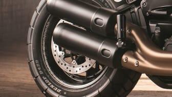 Dunlop lanserar D429 – ett nytt specialframtaget Harley-Davidson-däck