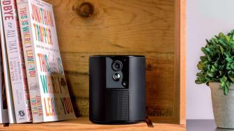 Prisvinnande allt-i-ett larmsystemet Somfy One smälter enkelt in i hemmets inredning.