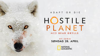 "Storsatstningen ""Hostile Planet"" har premiere på National Geographic 28. april 22.00."