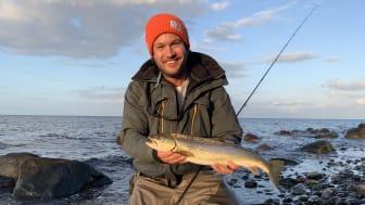 Lystfisker Gordon P. Henriksen
