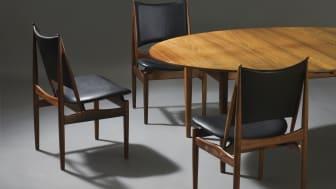 """Finn Juhl: """"The Egyptian Chair"""" & """"Judas Table"""""""