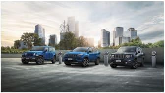 Privatleasing af Jeep med ubegrænsede km fra 4.595 kr./md