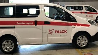 Falck indfører elbiler til patienttransport