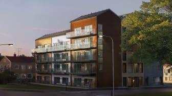 E/S-A bygger Kalmars högsta trähus