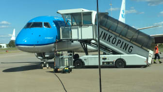 KLM at LPI apt