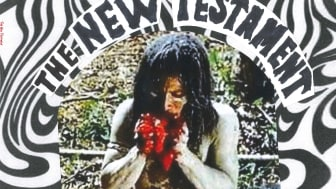 THE NEW TESTAMENT: International 'Punk 'n' Roll' Compilation with THE CAVEMEN, LES LULLIES, THE SCANERS, THE FADEAWAYS, NAVE NODRIZA and THE BLACK MAMBAS