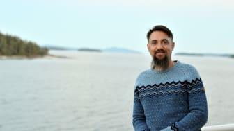 Sebastian Åkesson är Årets läsombud 2020. Foto: Amanda Åkesson.