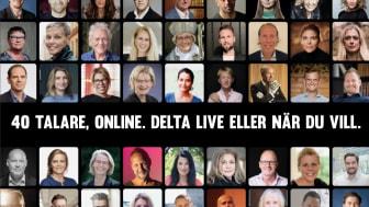 Välkommen till pressträff och webinar med Hela Sverige Samlas 23 februari