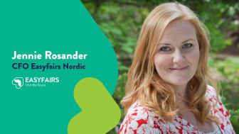 Jennie Rosander, CFO Easyfairs Nordic