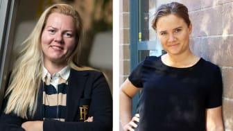 Ulrika Munther, grundare och VD på Enava och Lovisa Pettersson, grundare och VD på Lovisa of Sweden
