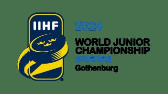 Scandinavium och Frölundaborg spelplatser i Junior VM i ishockey 2024