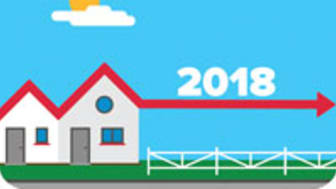 Prognos: Mindre fall eller utplaning på bostads-marknaden 2018