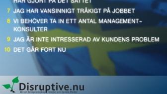 10 Saker en Svensk Entreprenör Aldrig Skulle Säga
