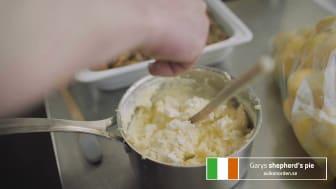 Gary lagar sin irländska shepherd´s pie