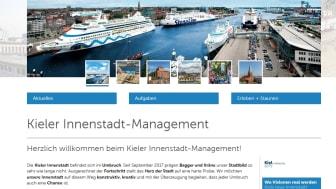 Kieler Innenstadt-Management geht online