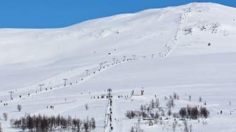 Rekordpåsk i Hemavan Tärnaby