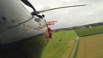 Leitungsreparatur per Hubschrauber