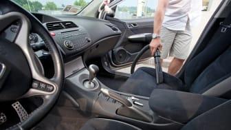 Slik støvsuger du bilen grundig og effektivt