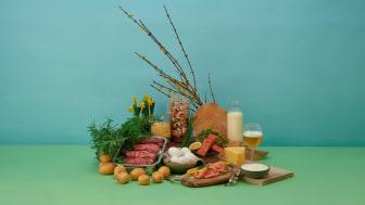 KRAV-märkt mat är den mest hållbara.