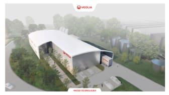 So wird die neue Regenerierstation mit Fertigstellung Mitte 2021 aussehen