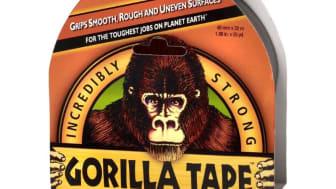 Gorillatape är en superstark & väderbeständig tejp som även fäster på ojämna ytor!
