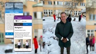 Stockholms stad lanserar app för äldres hållbara hälsa