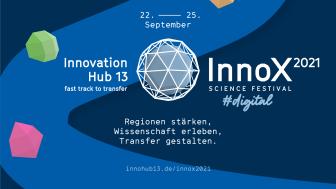"""Das InnoX-Festival steht unter dem Motto """"Regionen stärken, Wissenschaft erleben und Transfer gestalten"""" (Bild: Innohub13)"""