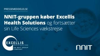 NNIT-gruppen køber Excellis Health Solutions og fortsætter sin Life Sciences-vækstrejse