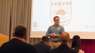 Petri Ahonen, Senior Business Developer och ansvarig för dagen, hälsade välkomna till den första upplagan av  Skövde Investment Day