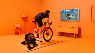 Zwift ger nya upplevelser på cykeln året runt