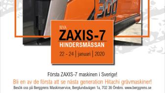 Sverigepremiär Hitachi ZX300LCN-7