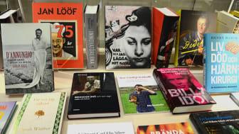 Rekordmånga böcker till KB under 2015