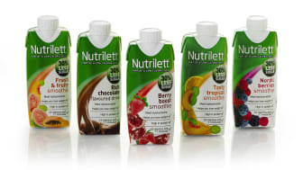 Gruppbild Nutrilett Less sugar smoothies