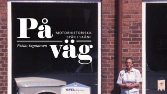 """Inbjudan till release för boken """"På väg - motorhistoriska spår i Skåne"""" av Niklas Ingmarsson"""